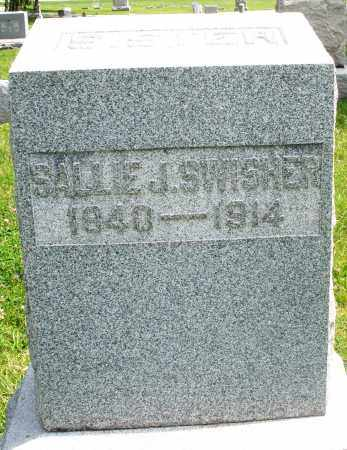 SWISHER, SALLIE J. - Preble County, Ohio | SALLIE J. SWISHER - Ohio Gravestone Photos
