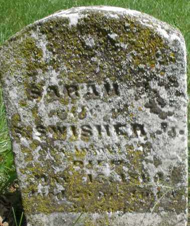 SWISHER, SARAH - Preble County, Ohio | SARAH SWISHER - Ohio Gravestone Photos