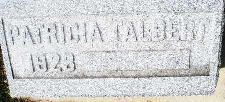 TALBERT, PATRICIA - Preble County, Ohio | PATRICIA TALBERT - Ohio Gravestone Photos