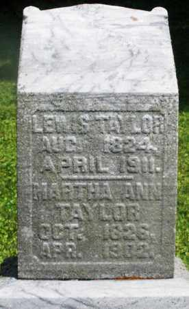TAYLOR, LEWIS - Preble County, Ohio | LEWIS TAYLOR - Ohio Gravestone Photos