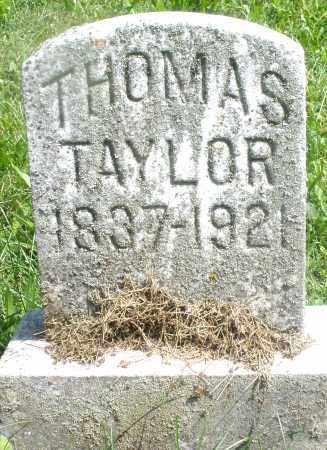 TAYLOR, THOMAS - Preble County, Ohio | THOMAS TAYLOR - Ohio Gravestone Photos