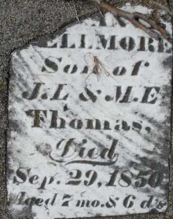 THOMAS, ?-ELLMORE - Preble County, Ohio   ?-ELLMORE THOMAS - Ohio Gravestone Photos