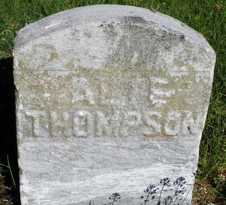THOMPSON, A. ? - Preble County, Ohio | A. ? THOMPSON - Ohio Gravestone Photos
