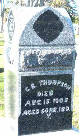 THOMPSON, C.B. - Preble County, Ohio | C.B. THOMPSON - Ohio Gravestone Photos