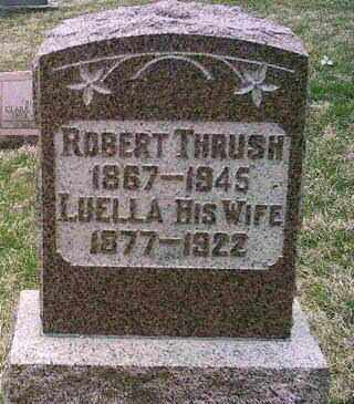 THRUSH, LUELLA - Preble County, Ohio | LUELLA THRUSH - Ohio Gravestone Photos