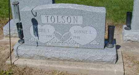 TOLSON, BONNIE L. - Preble County, Ohio | BONNIE L. TOLSON - Ohio Gravestone Photos