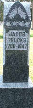 TRUCKS, JACOB - Preble County, Ohio | JACOB TRUCKS - Ohio Gravestone Photos