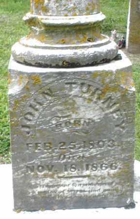 TURNEY, JOHN - Preble County, Ohio | JOHN TURNEY - Ohio Gravestone Photos