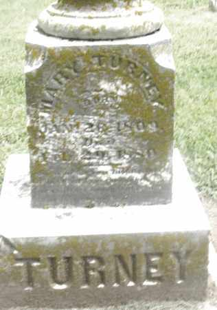 TURNEY, MARY - Preble County, Ohio | MARY TURNEY - Ohio Gravestone Photos