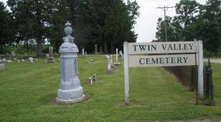 TWIN VALLEY, CEMETERY - Preble County, Ohio | CEMETERY TWIN VALLEY - Ohio Gravestone Photos