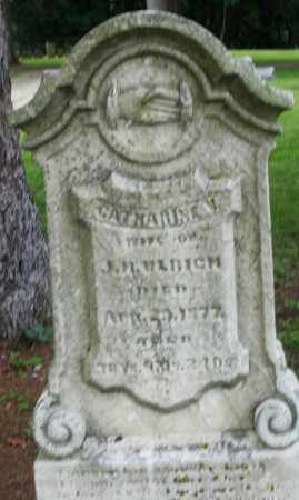 ULRICH, CATHARINE - Preble County, Ohio | CATHARINE ULRICH - Ohio Gravestone Photos
