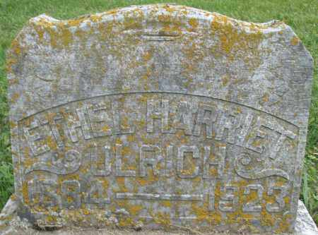 ULRICH, ETHEL HARRIET - Preble County, Ohio | ETHEL HARRIET ULRICH - Ohio Gravestone Photos