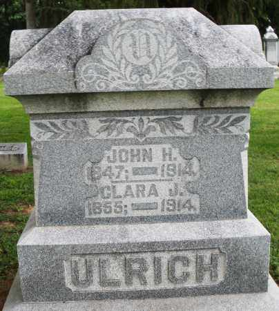 ULRICH, CLARA J. - Preble County, Ohio | CLARA J. ULRICH - Ohio Gravestone Photos