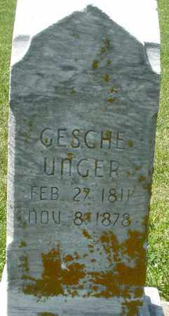 UNGER, GESCHE - Preble County, Ohio | GESCHE UNGER - Ohio Gravestone Photos