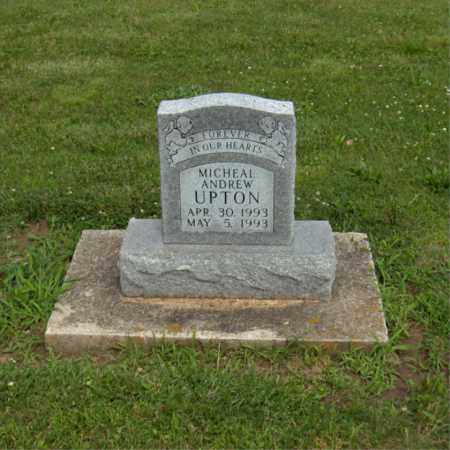 UPTON, MICHAEL ANDREW - Preble County, Ohio | MICHAEL ANDREW UPTON - Ohio Gravestone Photos