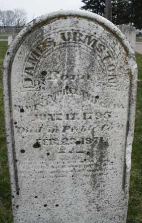 URMSTON, JAMES - Preble County, Ohio | JAMES URMSTON - Ohio Gravestone Photos