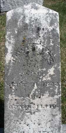 UTZ, LEWIS - Preble County, Ohio | LEWIS UTZ - Ohio Gravestone Photos