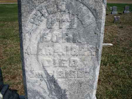 UTZ, WILLIAM - Preble County, Ohio | WILLIAM UTZ - Ohio Gravestone Photos