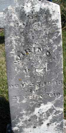 UTZ, WIRINOA ? - Preble County, Ohio | WIRINOA ? UTZ - Ohio Gravestone Photos