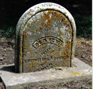 VOORHIS, MARY - Preble County, Ohio | MARY VOORHIS - Ohio Gravestone Photos