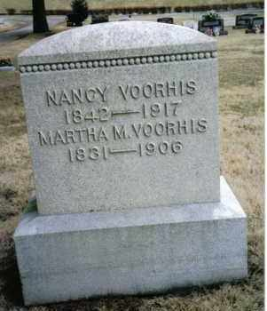 VOORHIS, NANCY - Preble County, Ohio | NANCY VOORHIS - Ohio Gravestone Photos