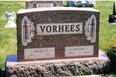 VORHEES, EDWARD E. - Preble County, Ohio | EDWARD E. VORHEES - Ohio Gravestone Photos