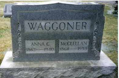 WAGGONER, ANNA C. - Preble County, Ohio | ANNA C. WAGGONER - Ohio Gravestone Photos