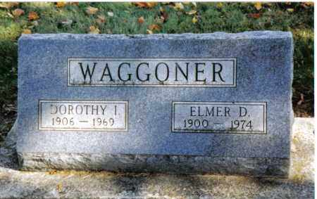 WAGGONER, ELMER D. - Preble County, Ohio | ELMER D. WAGGONER - Ohio Gravestone Photos