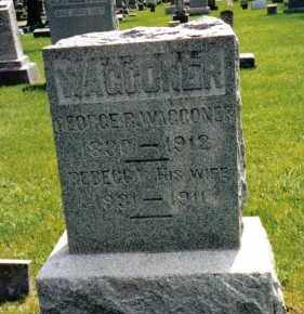 WAGGONER, GEORGE R. - Preble County, Ohio | GEORGE R. WAGGONER - Ohio Gravestone Photos