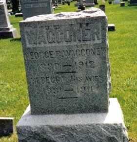 WAGGONER, REBECCA - Preble County, Ohio | REBECCA WAGGONER - Ohio Gravestone Photos