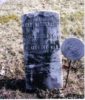 WAGGONER, GEORGE - Preble County, Ohio | GEORGE WAGGONER - Ohio Gravestone Photos