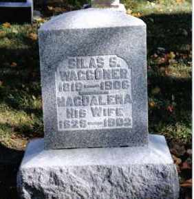 WAGGONER, MAGDALENA - Preble County, Ohio | MAGDALENA WAGGONER - Ohio Gravestone Photos