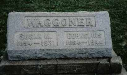 WAGGONER, CORNELIUS - Preble County, Ohio | CORNELIUS WAGGONER - Ohio Gravestone Photos