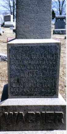 WAGNER, ANNA E. - Preble County, Ohio | ANNA E. WAGNER - Ohio Gravestone Photos