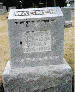 WAGNER, MAHALA - Preble County, Ohio | MAHALA WAGNER - Ohio Gravestone Photos