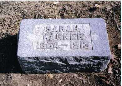 WAGNER, SARAH - Preble County, Ohio | SARAH WAGNER - Ohio Gravestone Photos