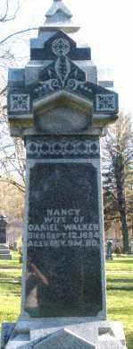 WALKER, NANCY - Preble County, Ohio | NANCY WALKER - Ohio Gravestone Photos