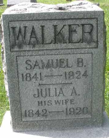 WALKER, JULIA A. - Preble County, Ohio | JULIA A. WALKER - Ohio Gravestone Photos