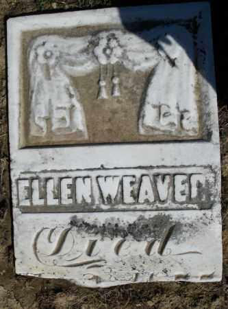 WEAVER, ELLEN - Preble County, Ohio | ELLEN WEAVER - Ohio Gravestone Photos