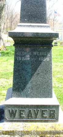 WEAVER, GEORGE - Preble County, Ohio | GEORGE WEAVER - Ohio Gravestone Photos