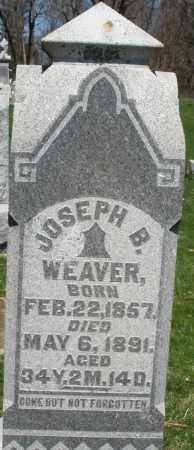 WEAVER, JOSEPH B. - Preble County, Ohio | JOSEPH B. WEAVER - Ohio Gravestone Photos