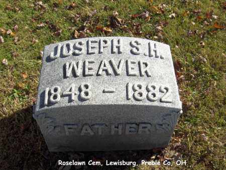 WEAVER, JOSEPH - Preble County, Ohio | JOSEPH WEAVER - Ohio Gravestone Photos