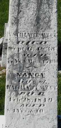 WEET, NANCY - Preble County, Ohio | NANCY WEET - Ohio Gravestone Photos
