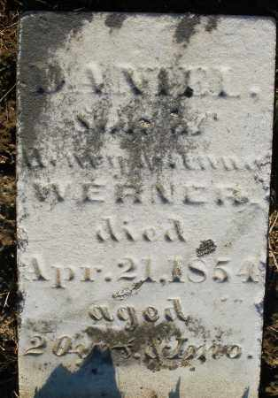 WERNER, DANIEL - Preble County, Ohio | DANIEL WERNER - Ohio Gravestone Photos
