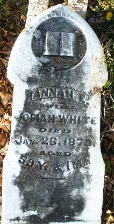 WHITE, HANNAH E. - Preble County, Ohio | HANNAH E. WHITE - Ohio Gravestone Photos