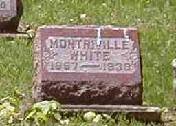 WHITE, MONTRIVILLE - Preble County, Ohio | MONTRIVILLE WHITE - Ohio Gravestone Photos