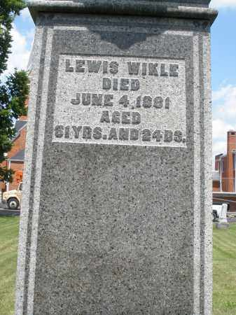 WIKLE, LEWIS - Preble County, Ohio | LEWIS WIKLE - Ohio Gravestone Photos