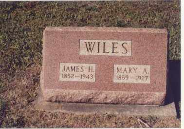 WILES, MARY A. - Preble County, Ohio | MARY A. WILES - Ohio Gravestone Photos