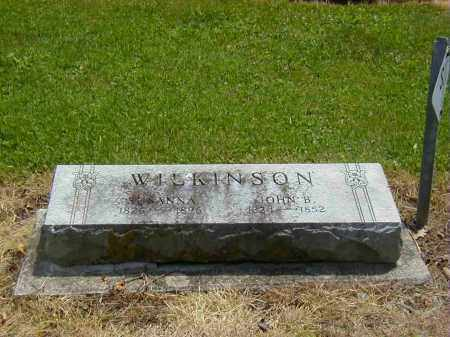 WILKINSON, SUSANNA - Preble County, Ohio | SUSANNA WILKINSON - Ohio Gravestone Photos