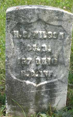 WILSON, H. C. - Preble County, Ohio | H. C. WILSON - Ohio Gravestone Photos